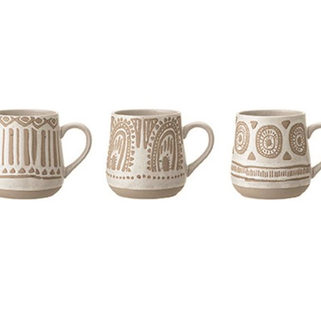 Stoneware Mug Set of 3