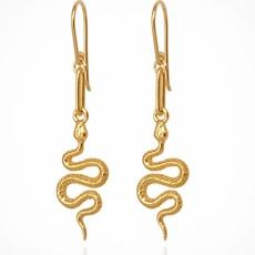 Temple Of The Sun Camila Gold Earrings