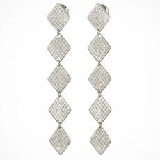 Temple Of The Sun Thera Silver Earrings