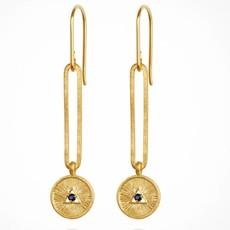 Temple Of The Sun Estelle Gold Earrings