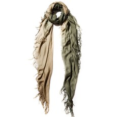 Olive/Moss Tissue Solid Print Scarf