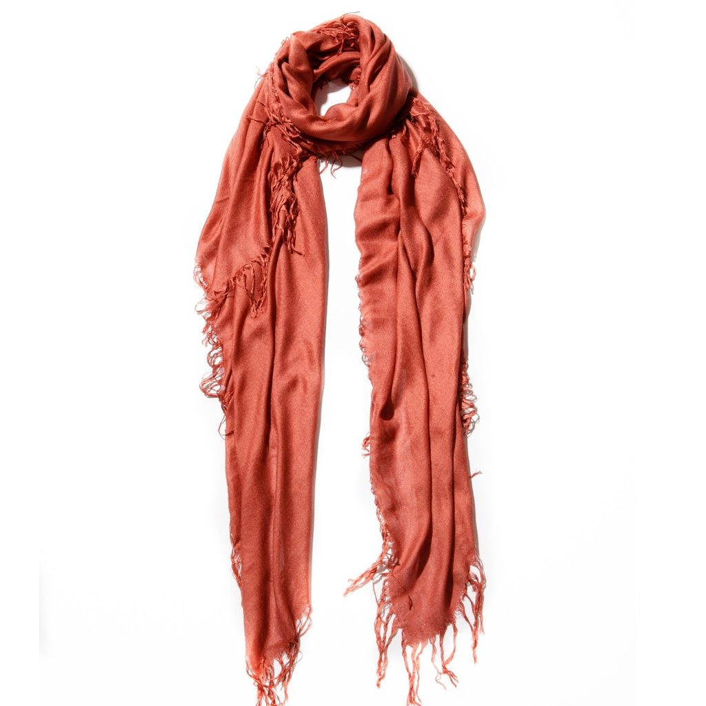 Redwood Tissue Solid Scarf