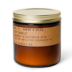 PF Candle Co Amber & Moss Large Soy Candle
