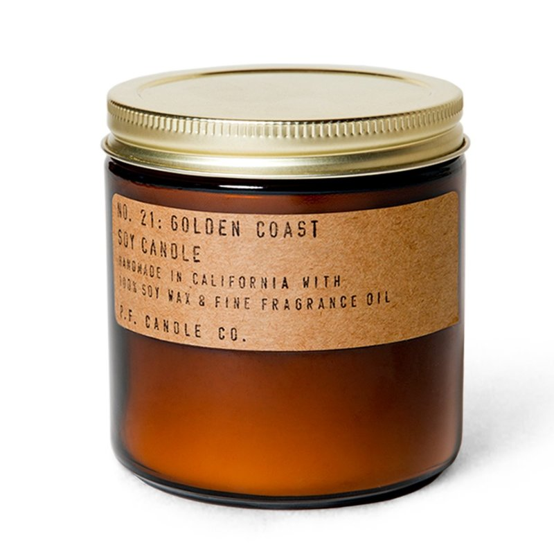 PF Candle Co Golden Coast Large Soy Candle