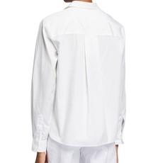 Frank & Eileen Silvio Woven Button Up White