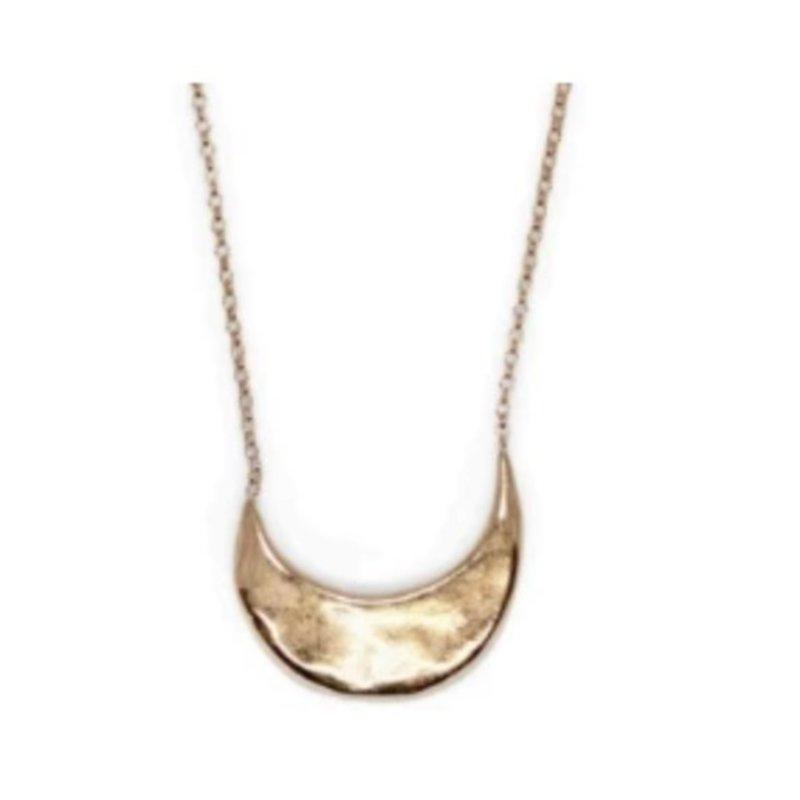 Amanda Hunt Muse Bronze Necklace