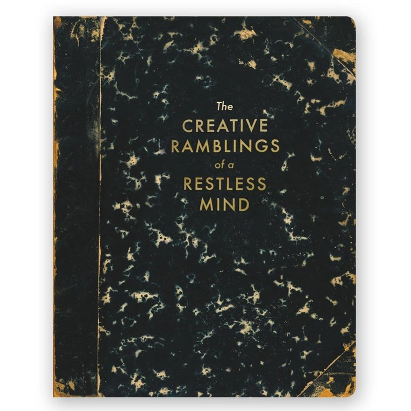 Creative Ramblings of a Restless Mind Journal - Large