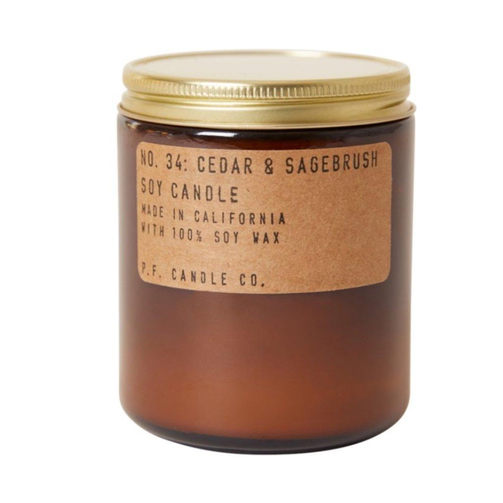 PF Candle Co Cedar & Sagebrush - 7.2 oz Standard Soy Candle