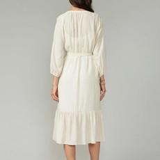 Dawson Midi Shirtdress with Separate Slip Lining