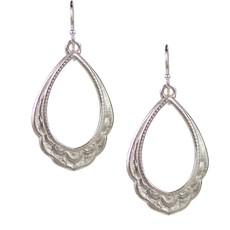 Lulu Maya Sterling Silver Spiritual Reality Earrings
