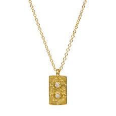 Lulu Yellow Bronze Chant Necklace