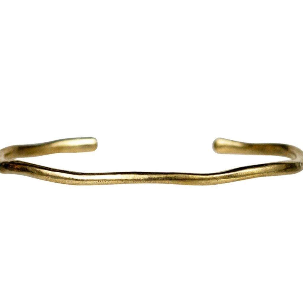 Lulu Shoreline Yellow Bronze Cuff