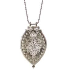 Lulu Laxmi Sterling Silver Shield Necklace