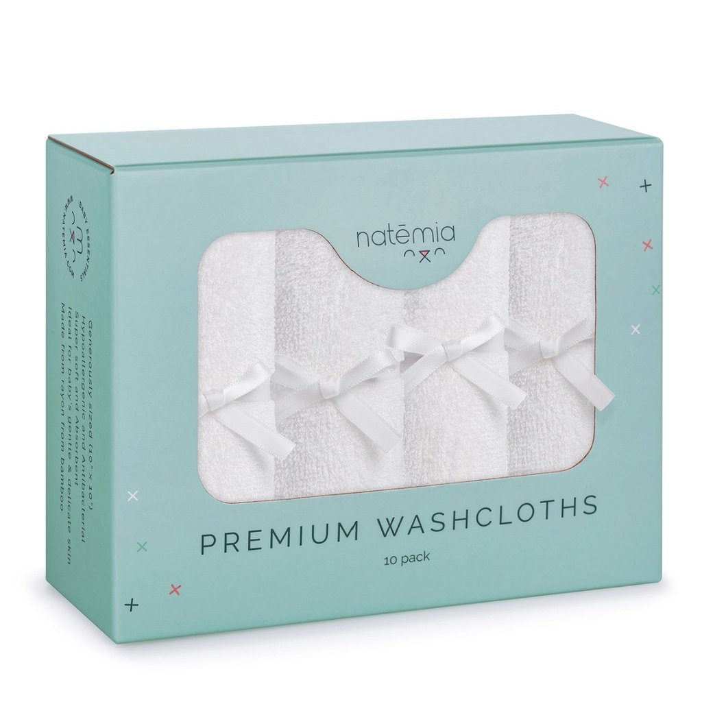 Bamboo Washcloths - Pack of 6