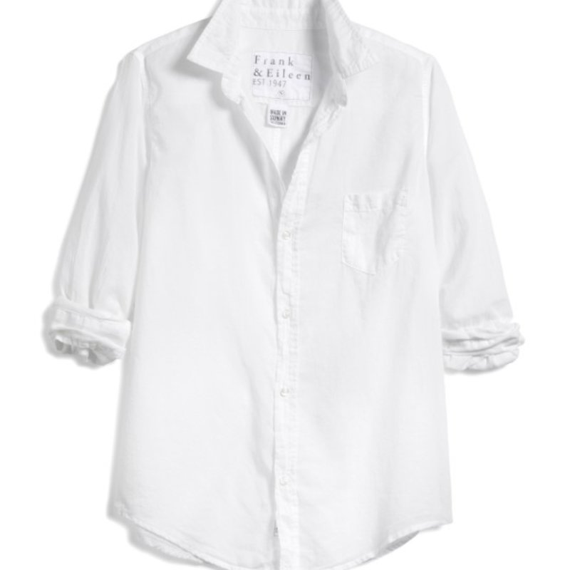 Frank & Eileen Barry Woven Button Up  VOILE