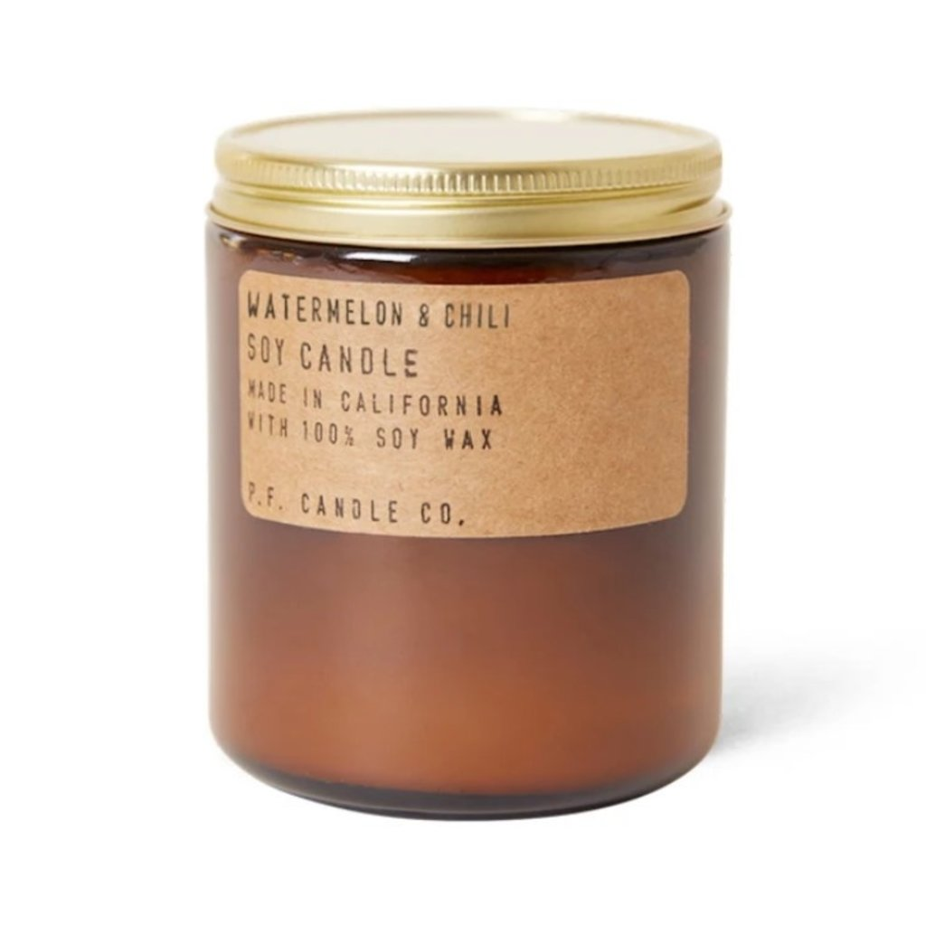 PF Candle Co Watermelon & Chili - 7.2 oz Standard Soy Candle
