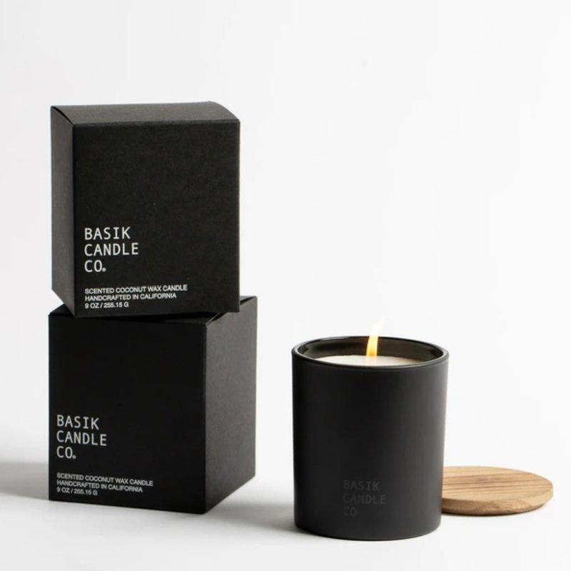 Basik No. 11 Pomelo + Ginger Candle 9 oz