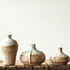 Terra-cotta Vase Set of 3