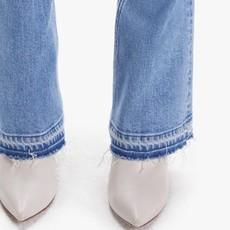 Mother High Waist Runaway Undone Hem On My Feet