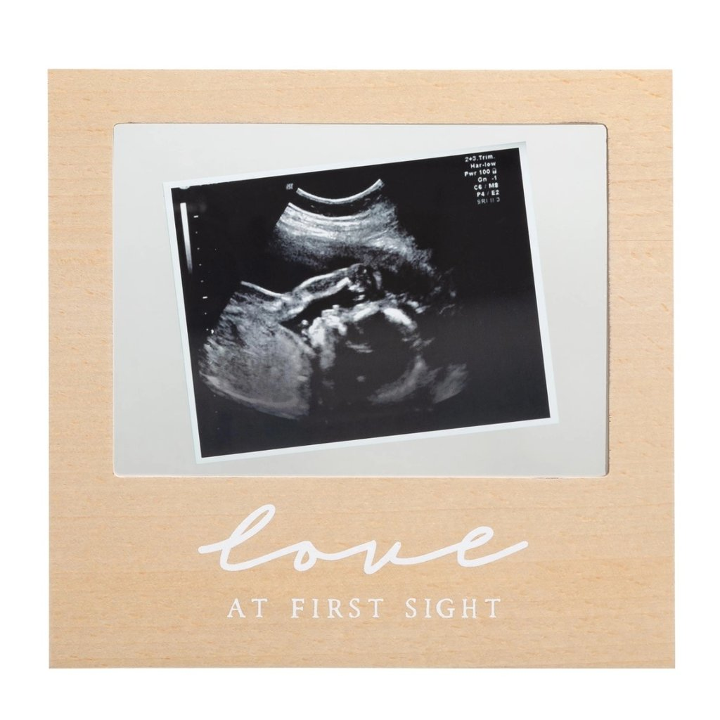 Love at First Sight Floating Sonogram Frame, Neutral