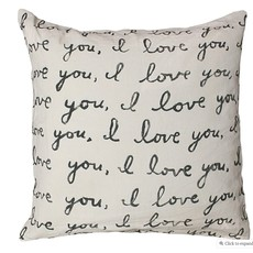 Sugarboo Letter For You Pillow