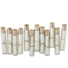 Sugarboo Glass Vial w Blank Parchment & Cork