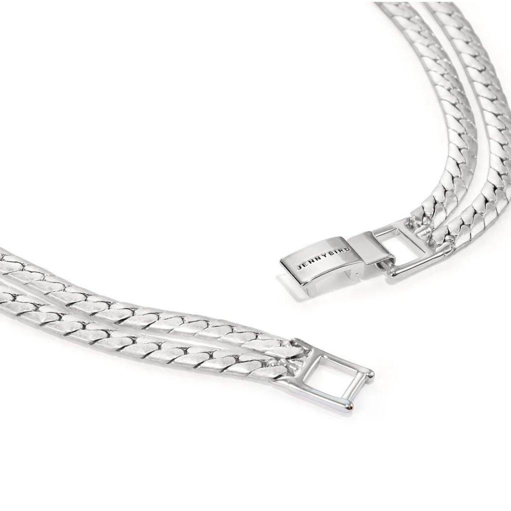 Priya Necklace Oxidized Silver