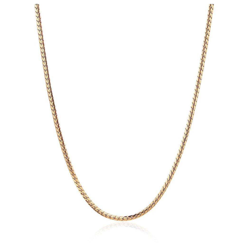 Priya Necklace High Polished Gold