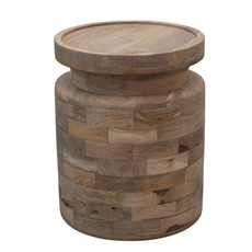 Mango Wood Stool/Accent Table
