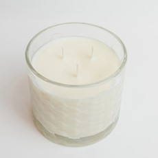 Clear Honeycomb Candle