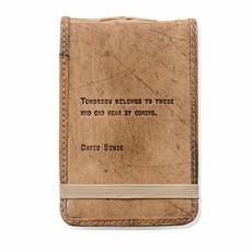 Sugarboo Mini David Bowie Leather Journal 4x6
