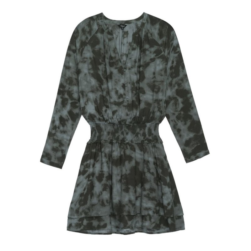 Rails Jasmine Long Sleeve Dress Slate Tie Dye