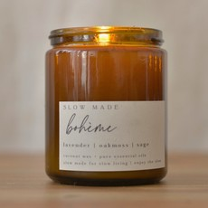 Slow Made Slow Made Signature 7.5 oz Candle