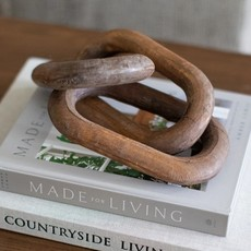 Reclaimed Wood Chain with 3 Links