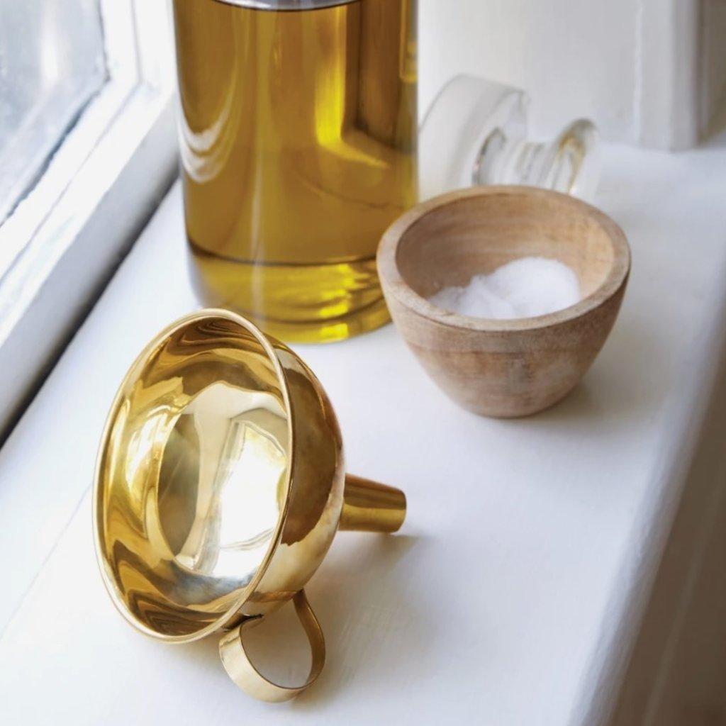 Brass Funnel