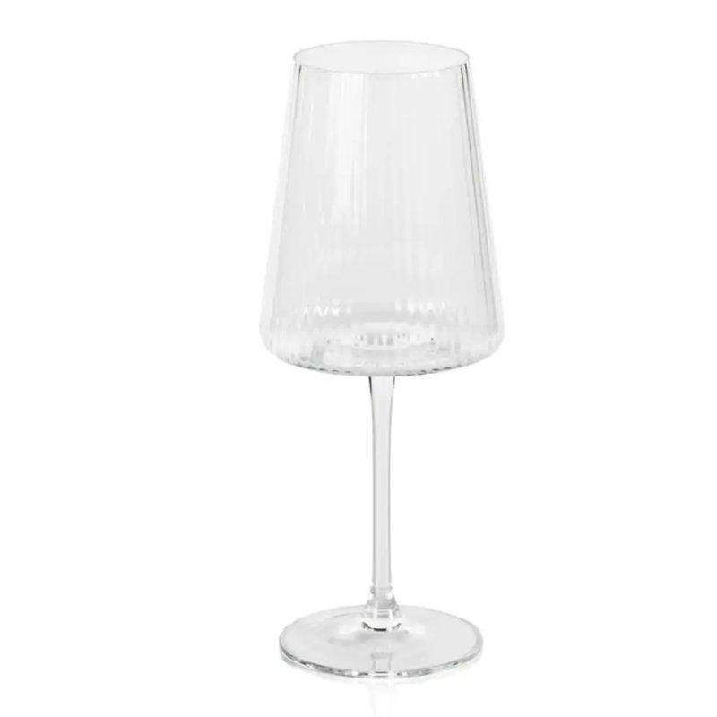 Bandol Fluted Textured Wine Glass Set of 4