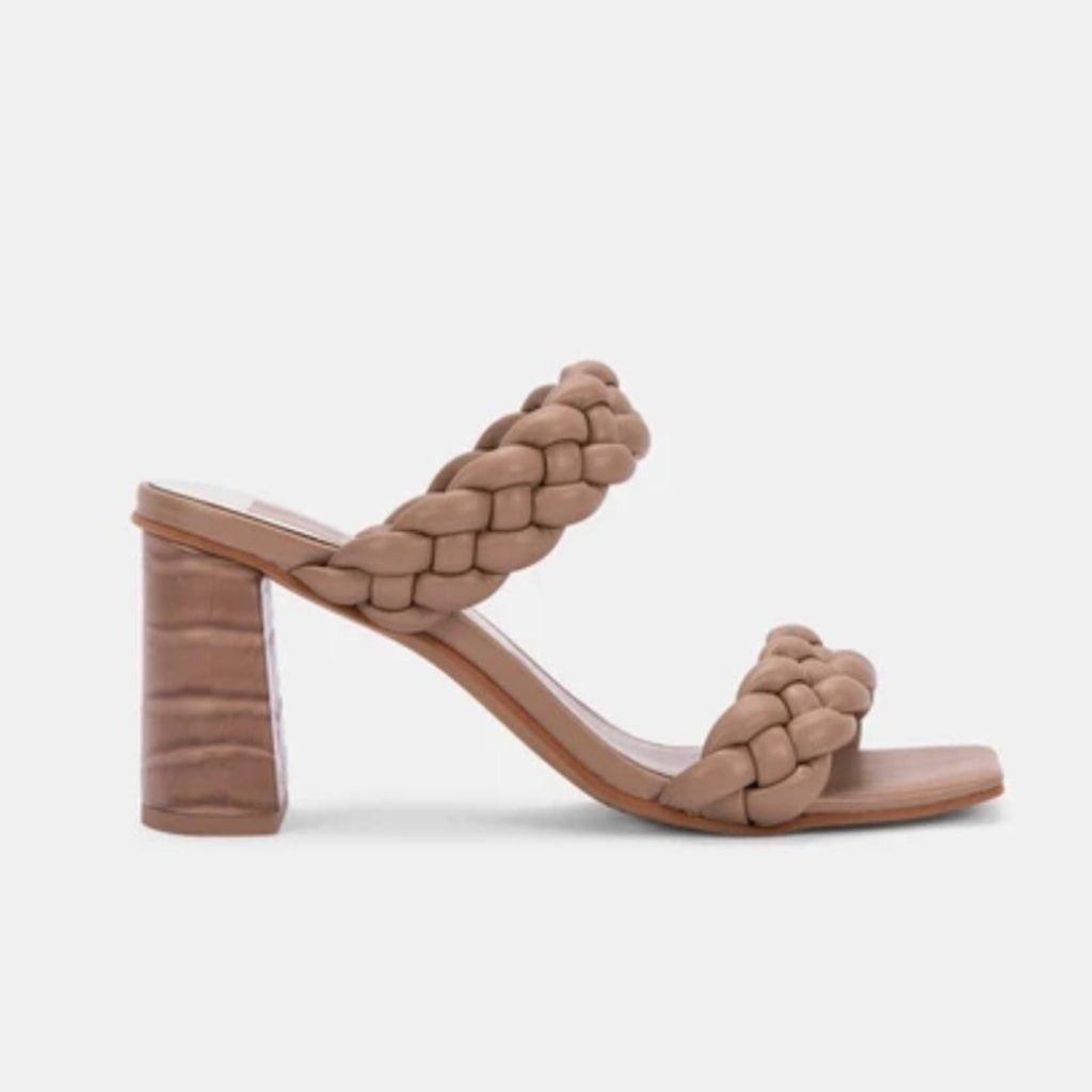 Stella Chunky Braid  Block Heel As Sized