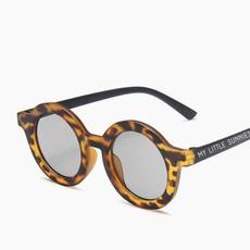 Tenth & Pine Round Retro Sunglasses - Black Tortoise