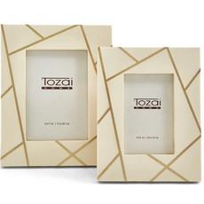 Two's Company VECTOR BRASS ANGLES INLAY FRAMES 5x7