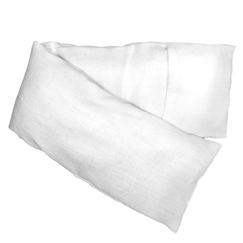 Elizabeth W Washed Ivory Linen Hot/Cold Pack