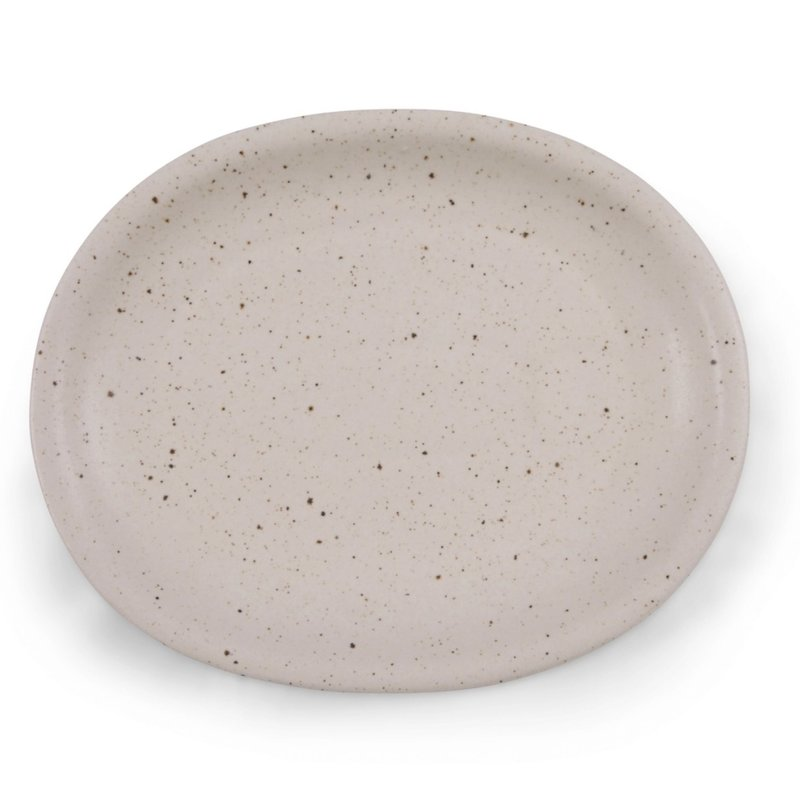 Sugarboo Large Oval Speckled Ceramic Platter