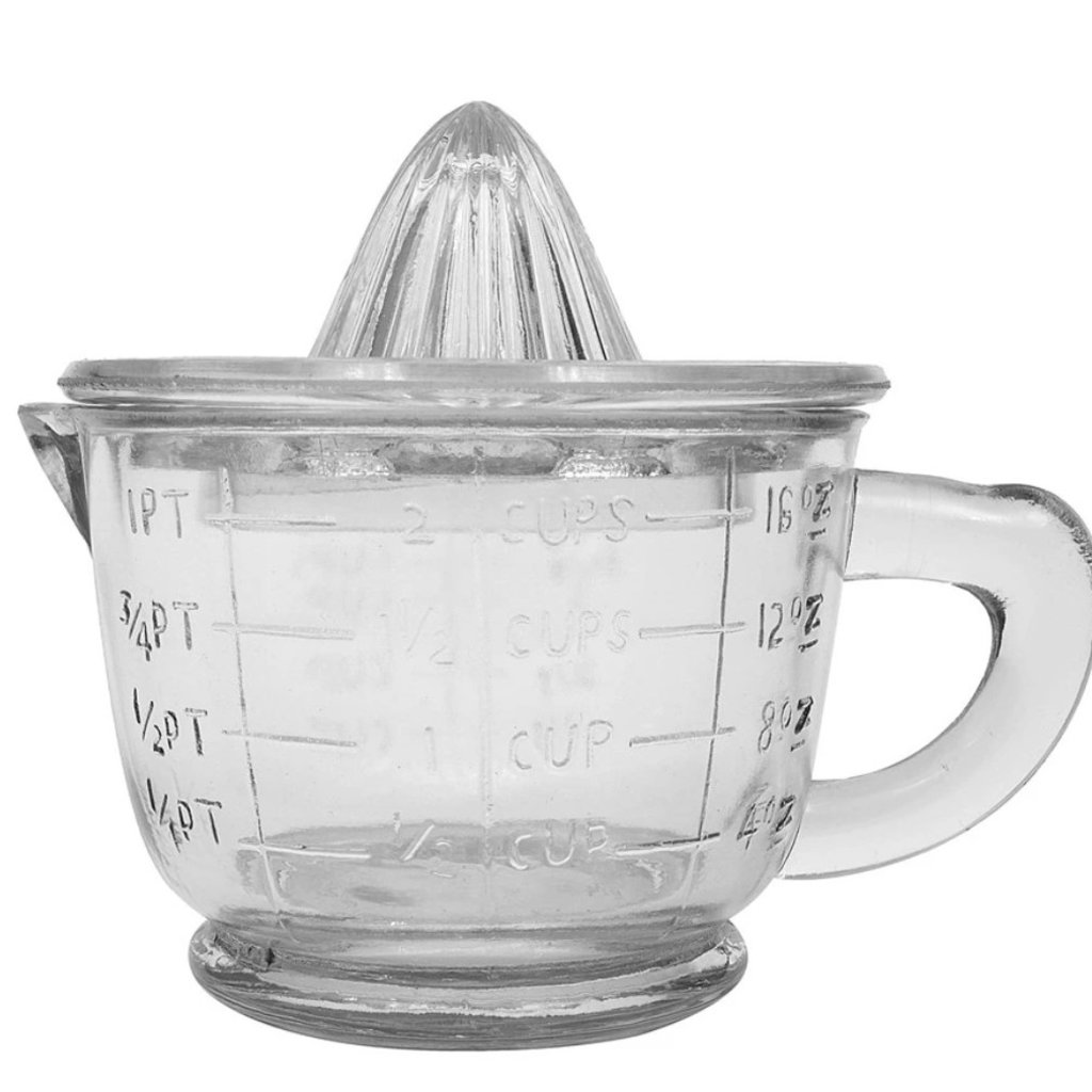 Pressed Glass Juicer