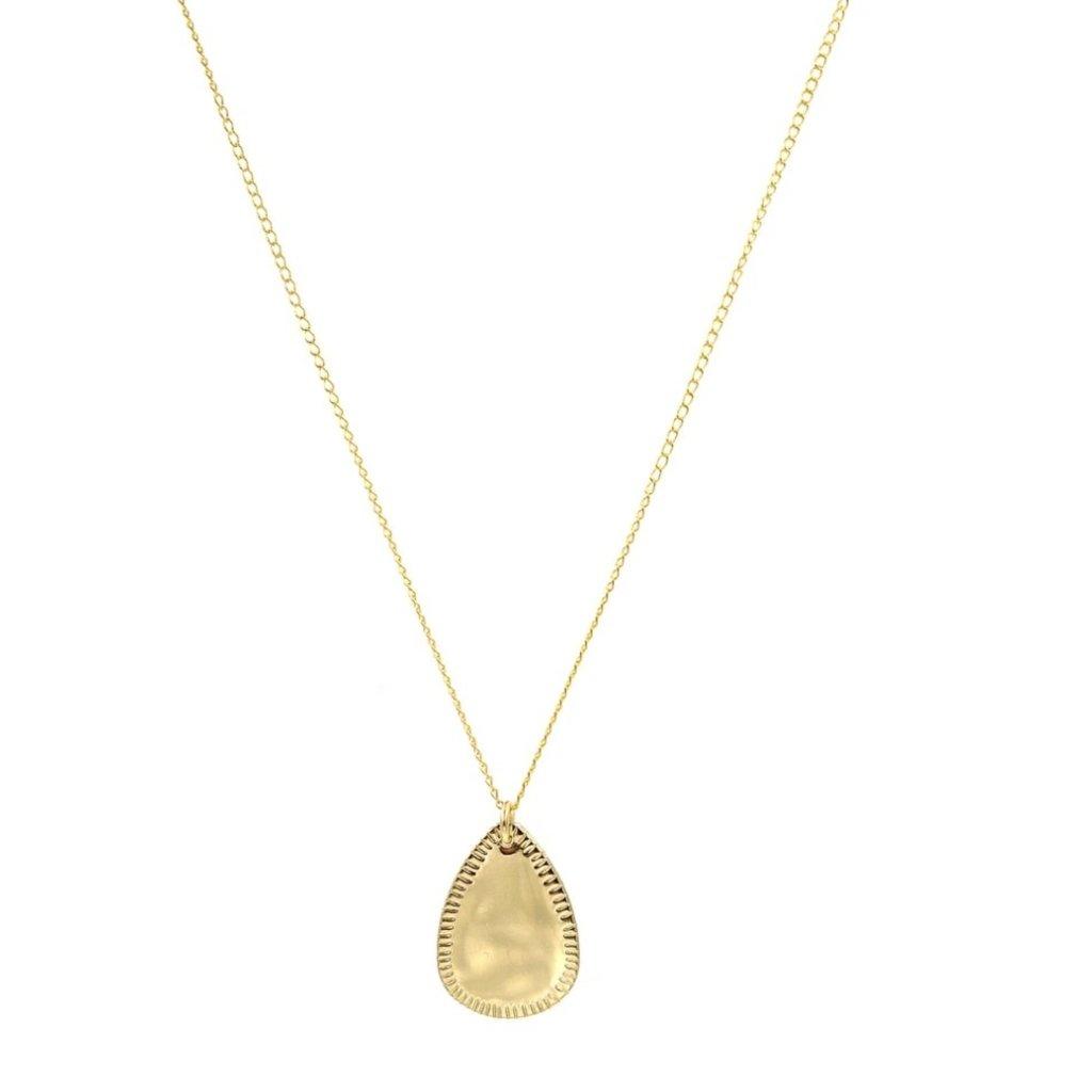 Paradigm Gold Fill Drop Necklace