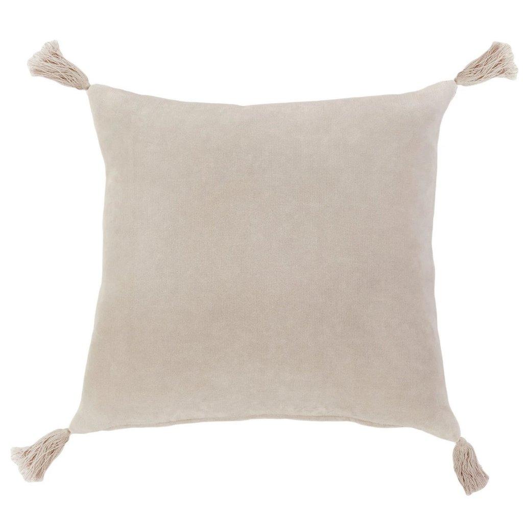 "Pom Pom at Home Bianca Blush 20"" Pillow w Insert"