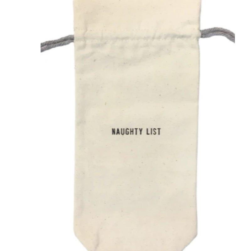Sugarboo Naughty List Wine Bag