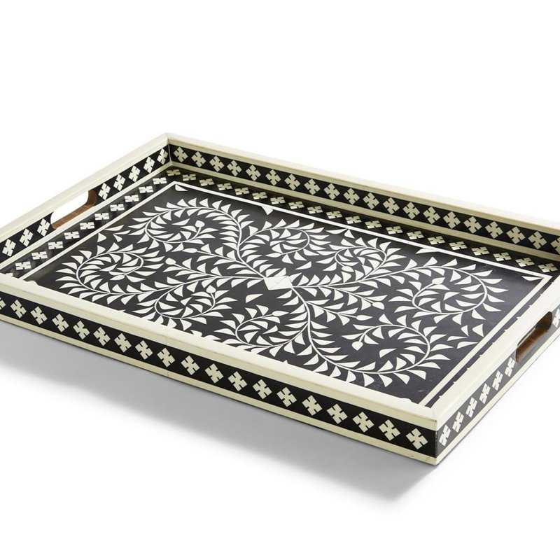 Two's Company Jaipur Palace Serving Tray