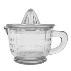 Pressed Glass Juicer, Set of 2
