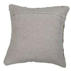 Woven Jute & Cotton Pillow, Natural
