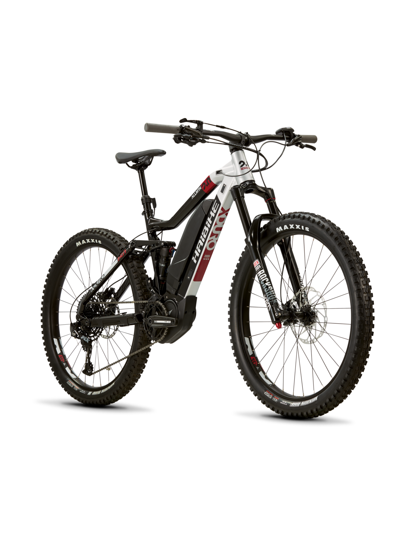 HAIBIKE Haibike XDURO AllMtn 2.0 Black/Red/Grey