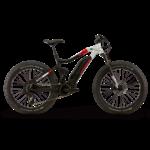 HAIBIKE Haibike XDURO FullFatSix 10.0 Black / Silver / Red Matte